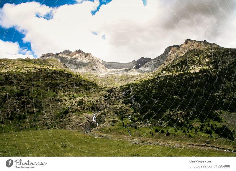 Pyrenäen-Wanderweg 25 Natur Ferien & Urlaub & Reisen Pflanze Sommer Landschaft Wolken Tier Ferne Berge u. Gebirge Umwelt Gefühle Wiese Freiheit Felsen Feld