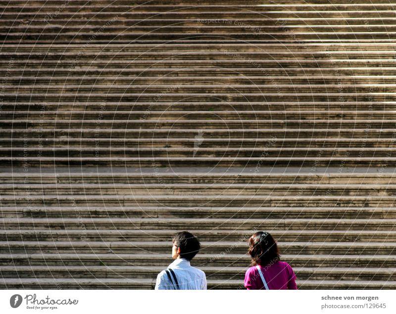 wegbereitend Mensch Wege & Pfade gehen laufen Italien Verkehrswege Tourist Sightseeing