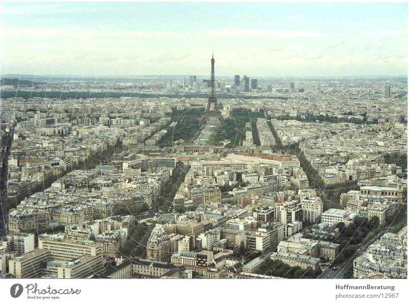 Paris Tour d'Eiffel Paris von oben