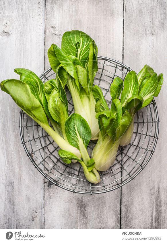 Pak Choi Natur Gesunde Ernährung Leben Stil Essen Foodfotografie Garten Lebensmittel Design Tisch Kochen & Garen & Backen Gemüse Bioprodukte Diät