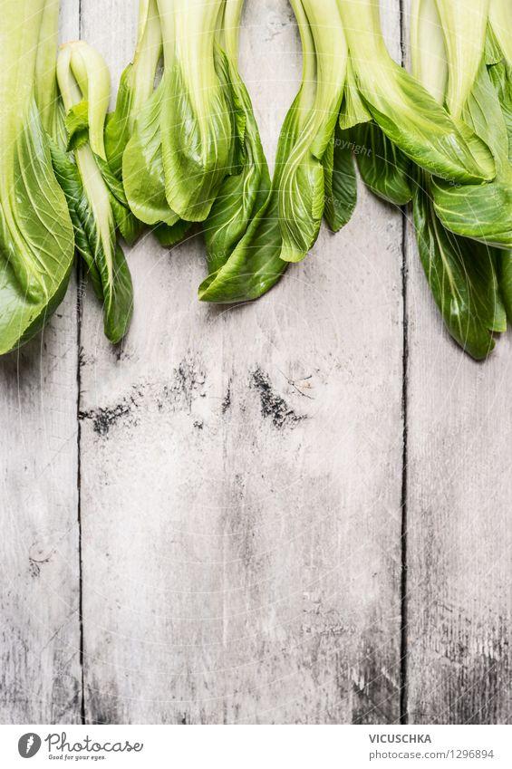 Chinesisch kochen - Pak Choi Lebensmittel Gemüse Salat Salatbeilage Ernährung Mittagessen Abendessen Bioprodukte Vegetarische Ernährung Diät Stil Design
