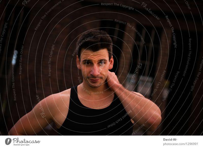 sportlich Lifestyle Körper Gesundheit Fitness Leben Mensch maskulin Junger Mann Jugendliche Erwachsene 1 18-30 Jahre Lächeln Leidenschaft Sympathie attraktiv