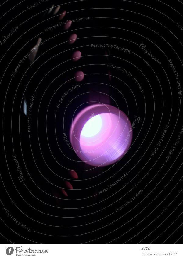 Projektor dunkel Freizeit & Hobby violett Lavalampe