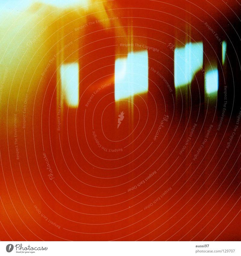venturesome 6 gelb Farbe Lomografie abstrakt Explosion