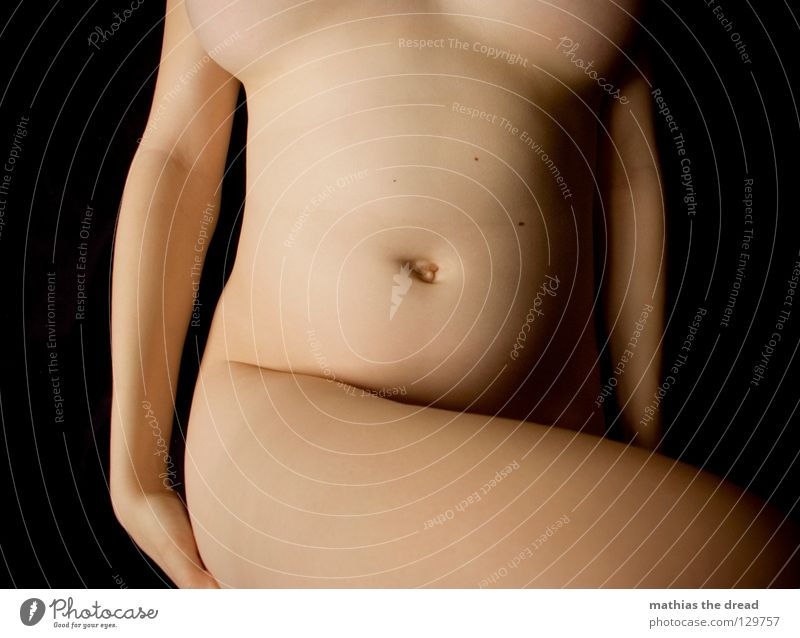 NACKT! Frau schön ruhig feminin Erotik nackt Linie Körper Haut Hintergrundbild elegant frei Elektrizität Akt Frauenbrust