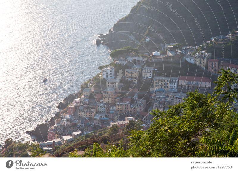 Riomaggiore Ferien & Urlaub & Reisen Stadt Sommer Erholung Meer Haus Ferne Umwelt Wege & Pfade Stimmung Freizeit & Hobby Tourismus wandern authentisch Europa