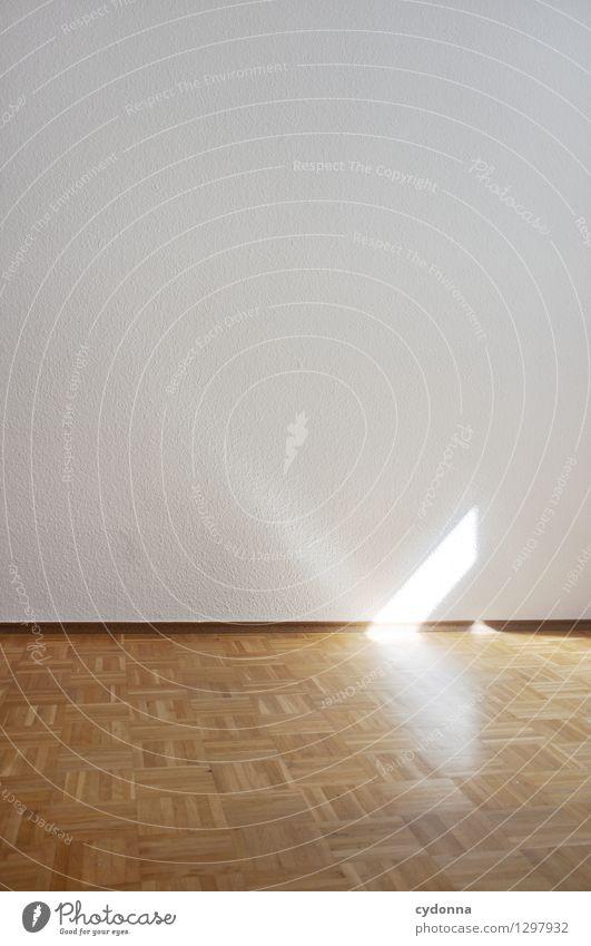 Zum Abschied Lifestyle Häusliches Leben Wohnung Umzug (Wohnungswechsel) Raum Mauer Wand Beginn ästhetisch Beratung Einsamkeit einzigartig entdecken Freiheit