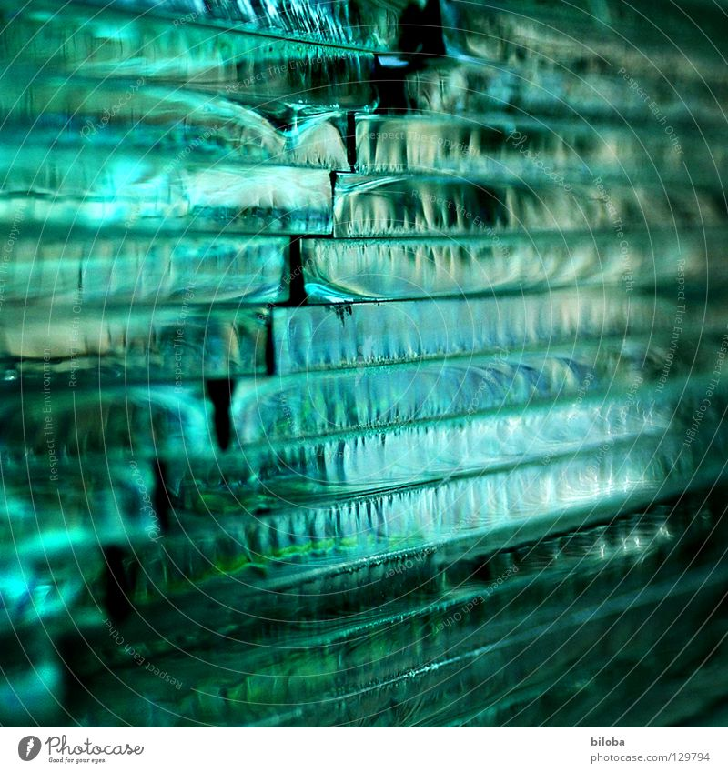 Quadriertes Glas grün schön Hintergrundbild Treppe ästhetisch Ecke Quadrat brechen Strukturen & Formen geschmackvoll Schichtarbeit Arbeit & Erwerbstätigkeit