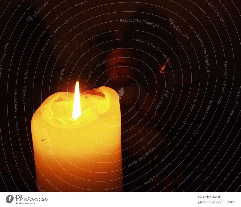 kerze oh schön kitsch Kerze Romantik Kitsch Fototechnik
