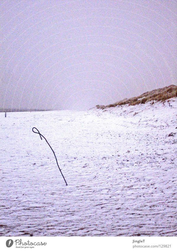 Frühling im Selbstversuch Ferien & Urlaub & Reisen Meer Strand Einsamkeit Erholung Schnee Sand Küste See Wetter Wellen Insel Aussicht Nordsee Stranddüne Gezeiten