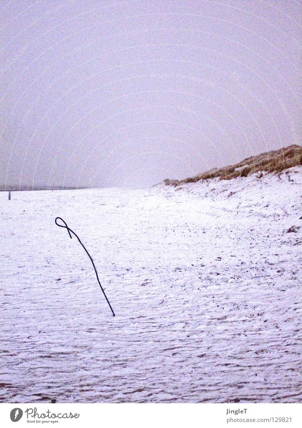 Frühling im Selbstversuch Strand Küste Meer See Wetter Wellen Gezeiten Weichzeichner Aussicht Einsamkeit Ferien & Urlaub & Reisen Erholung Nordsee Sand