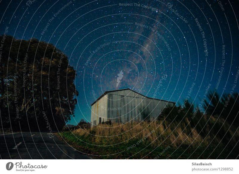 Milkyway über das Bauernhaus Natur Ferien & Urlaub & Reisen schön Haus Ferne Reisefotografie Umwelt Gebäude Freiheit Tourismus Ausflug Stern Abenteuer Bauernhof