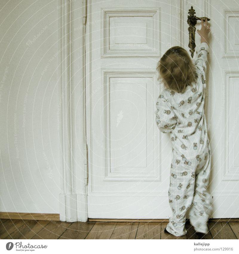 1300 | nur für erwachsene Kind Kleinkind Wachstum aufmachen Schlafanzug verschlafen Klacken Suche Griff Schlüssel Raum Altbau Wohnung Arbeit & Erwerbstätigkeit