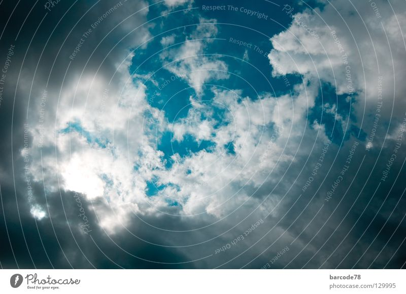 Himmelreich Wolken blau Sonne Umwelt Gefühle Bewegung träumen Abenteuer stehen beobachten Kreativität Unendlichkeit Freundlichkeit fantastisch Umweltschutz