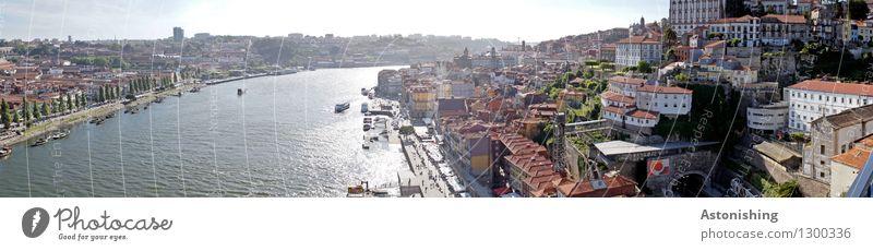 Porto V Himmel Stadt blau Sommer Baum Haus Umwelt Wand Straße Wärme Mauer hell Horizont Wetter Aussicht groß