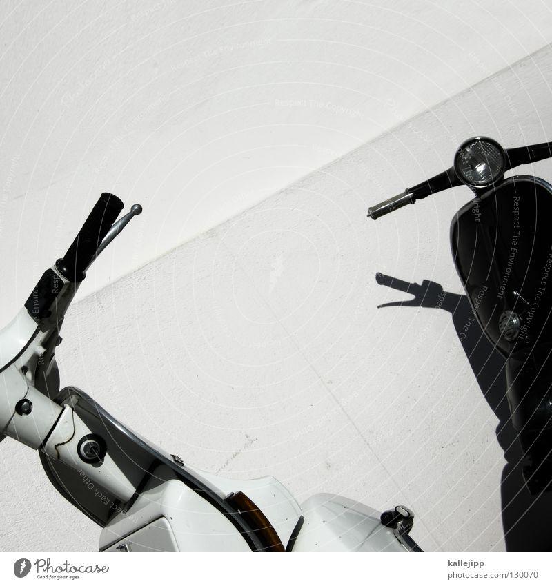 black or white Haus dunkel Stein Traurigkeit hell Industrie Schutz Backstein Fliesen u. Kacheln Burg oder Schloss Rost Statue Motorrad Garage Kleinmotorrad