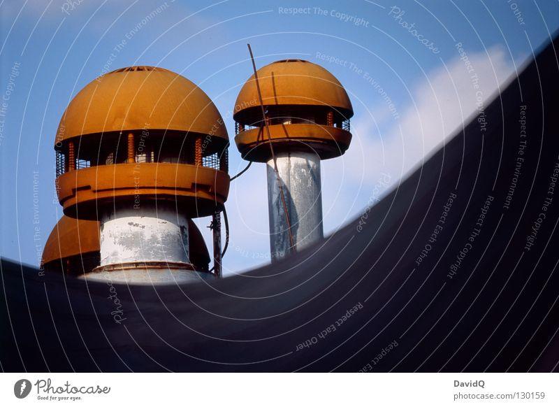 urban mushrooms Stadt Design modern Dach Kugel Station obskur Pilz Siebziger Jahre UFO außerirdisch Fundament Belüftung
