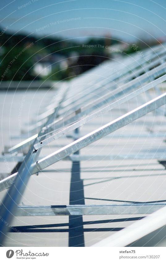 PV-Bau Baustelle Sonnenenergie Solarzelle