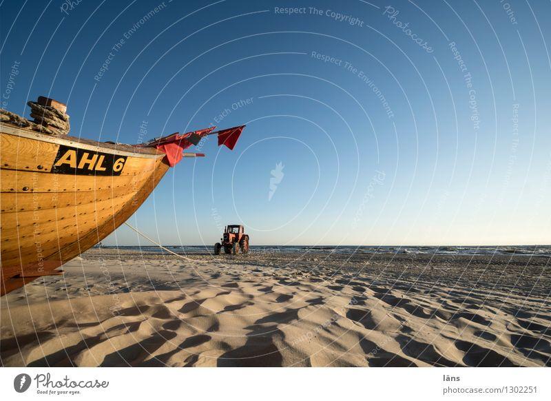 das Meer in mir Ferien & Urlaub & Reisen Sommer Wasser Strand Umwelt Küste Sand Horizont Luft Tourismus Beginn Insel Ausflug Schönes Wetter Urelemente