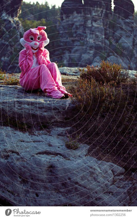 oh gott Freude Kunst rosa ästhetisch Abenteuer Hase & Kaninchen Spaßvogel erschrecken Hasenbraten Hasenohren Hasenjagd Hasenzahn Hasenpfote