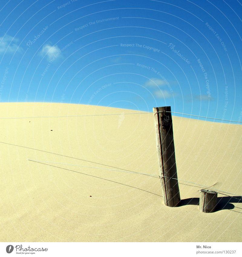 soft Natur Himmel Sonne blau Pflanze Sommer Strand Ferien & Urlaub & Reisen Wolken Ferne Wärme Sand Linie hell Wellen Küste