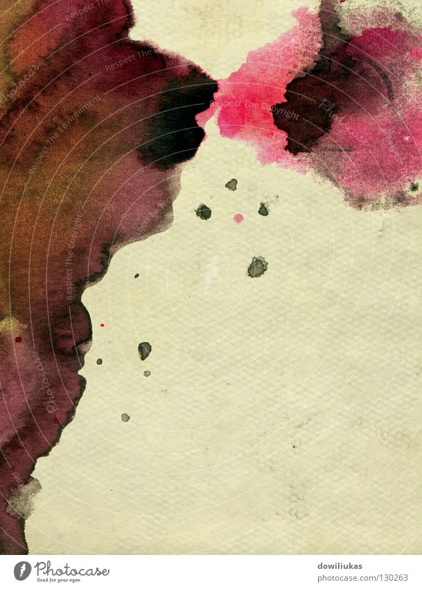 Paper background Kunst Hintergrundbild Kultur Grafik u. Illustration spritzen liquide Grunge Blotting
