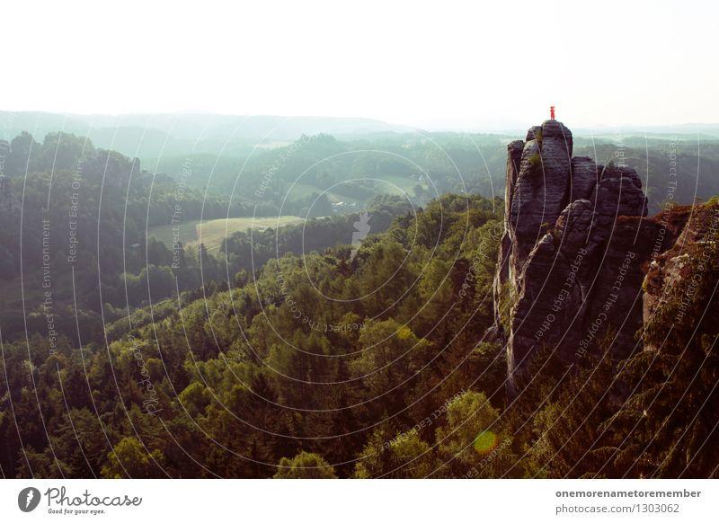 lost Natur Pflanze Landschaft Freude Berge u. Gebirge Umwelt Felsen rosa stehen ästhetisch hoch gefährlich verloren Nervenkitzel Elefant Spaßvogel