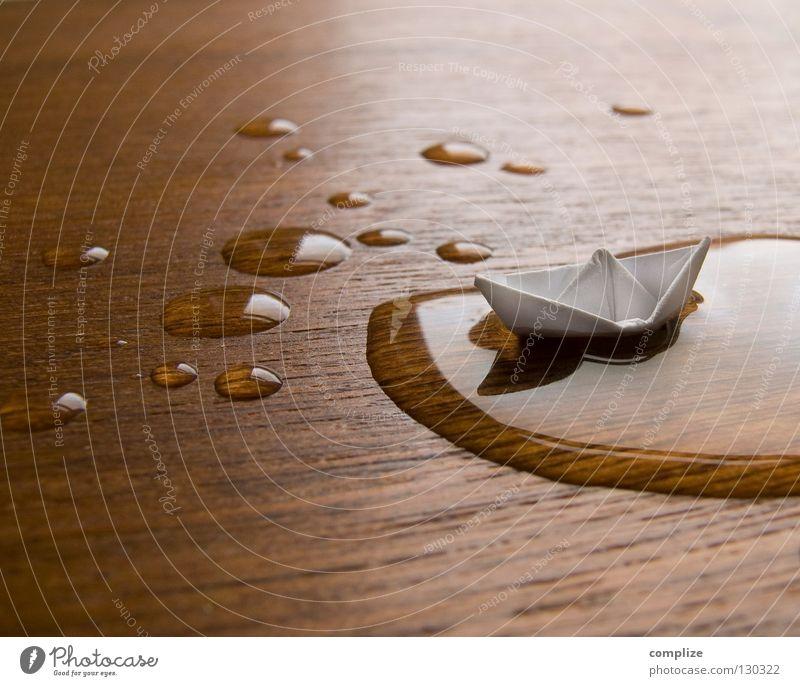 auf hoher See Ferien & Urlaub & Reisen Wasser Meer Erholung Spielen Holz klein Schwimmen & Baden Wasserfahrzeug Kunst Regen Freizeit & Hobby Bildung Tisch
