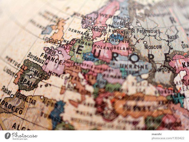 Europa Umwelt Klima Deutschland Frankreich Italien Europäer Europa Parlament Europafahne bevölkert Zeichen Schilder & Markierungen Stimmung Spielkarte Landkarte