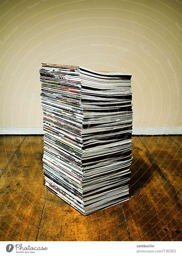 Rolling Stone, komplette deutsche Ausgabe bis 2007 Musik Papier Recycling Kommunizieren Information Zeitung Medien Konzert Wertstoff Sammlung Stapel Wissen