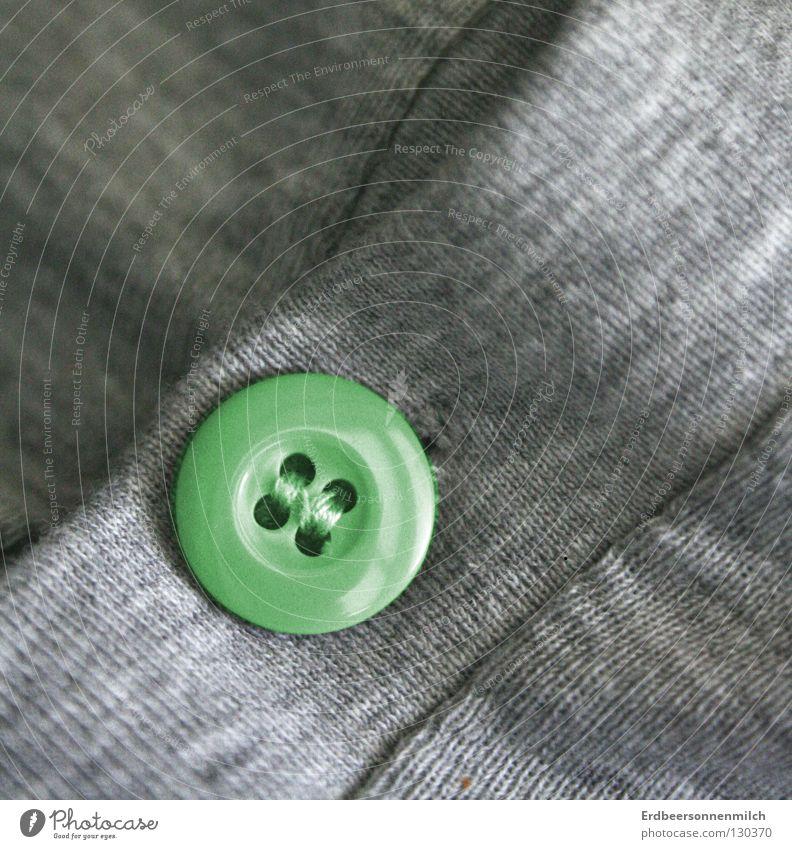 Einfach mal die ausnahme sein grün Freude grau Kunst T-Shirt Pullover Knöpfe Wiedervereinigung Kunsthandwerk