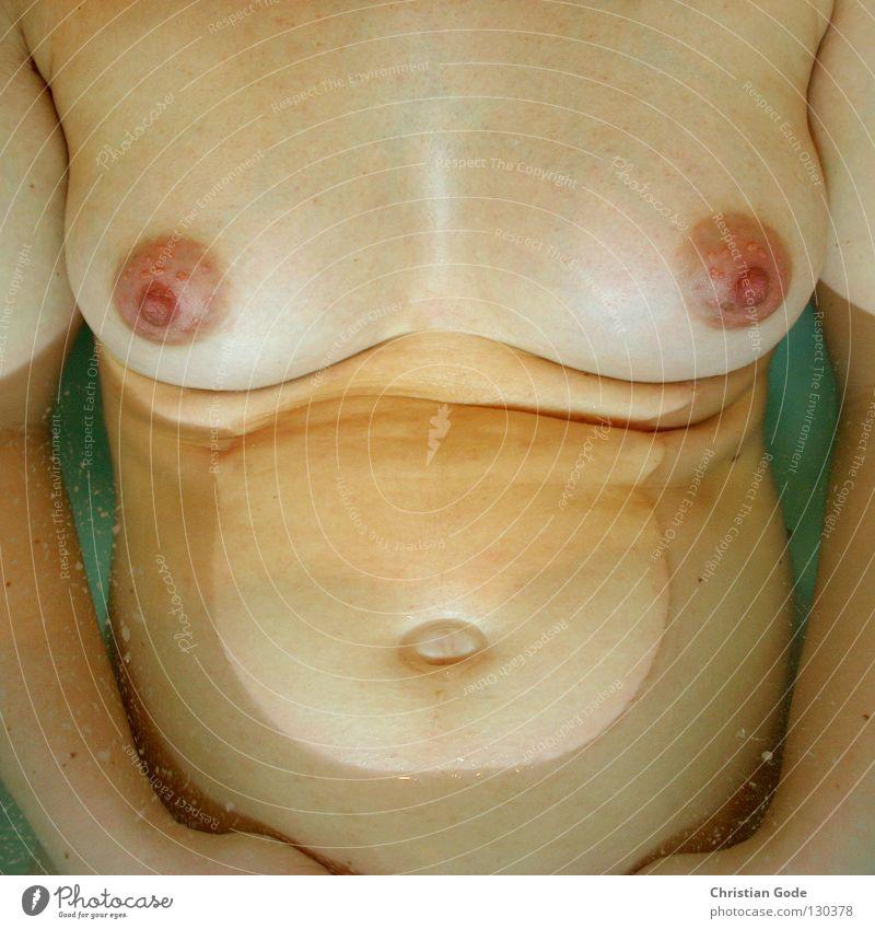 Henry inside Babybauch klein schreien dick gewachsen groß nackt Frau Mutter schwanger Nachkommen Physik Badewasser grün weiß gelb rot Bauchnabel Hand Smiley