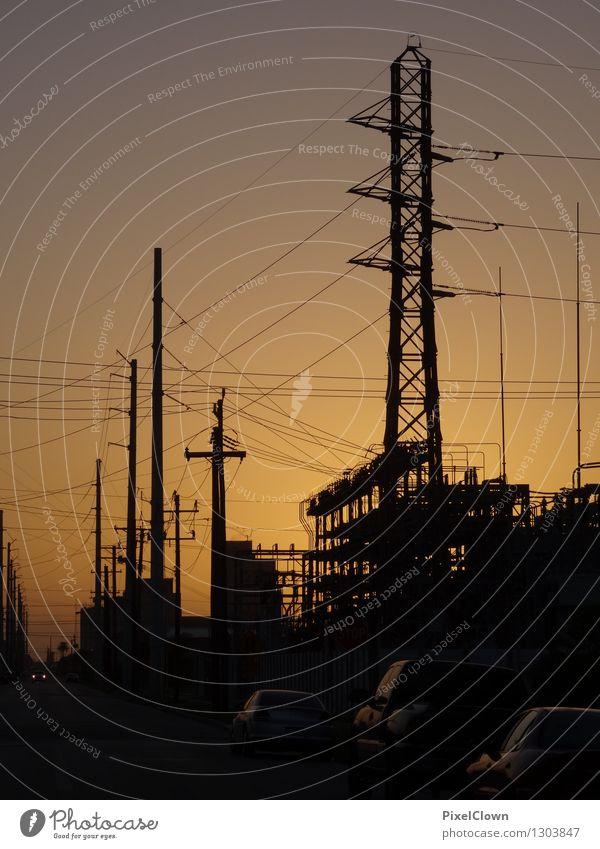 Energie Tourismus Arbeit & Erwerbstätigkeit Wirtschaft Energiewirtschaft Kernkraftwerk Kohlekraftwerk Energiekrise Industrie Sonnenaufgang Sonnenuntergang