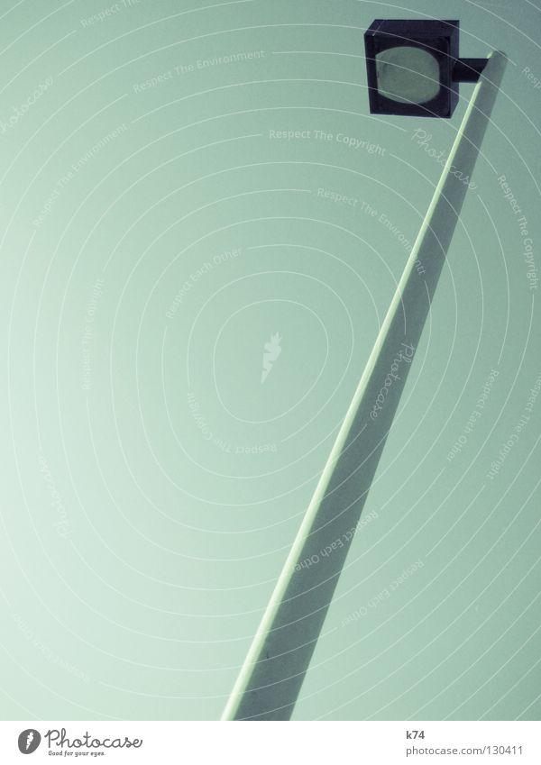 7 grün Farbe Lampe Kreis Dinge Quadrat Laterne türkis diagonal wenige Stab sehr wenige Pastellton Strukturen & Formen hellgrün