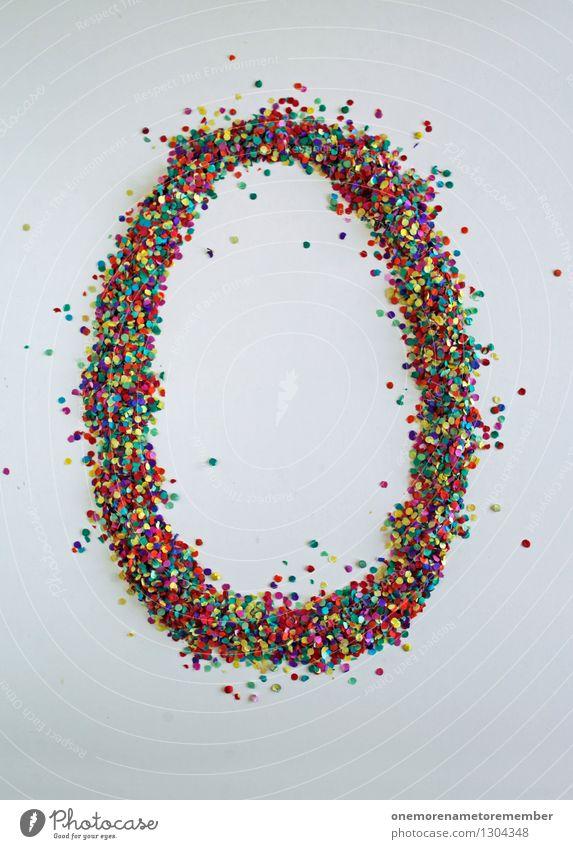 0 wie: Problemo Kunst Kunstwerk ästhetisch 0-12 Monate Null Bock Ostern Ziffern & Zahlen viele gebastelt Kreativität Farbfoto mehrfarbig Innenaufnahme