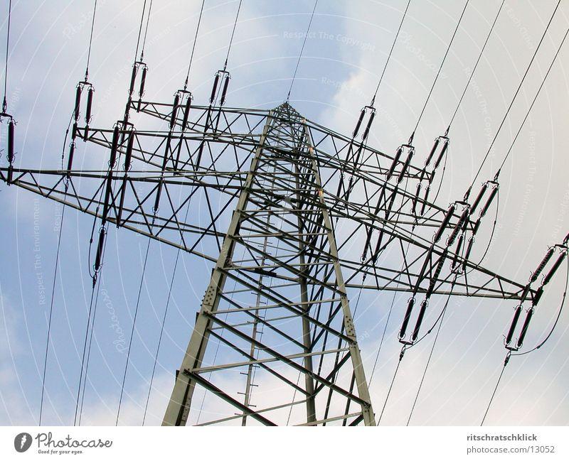 hochspannung_02 Elektrizität Technik & Technologie Strommast Elektrisches Gerät