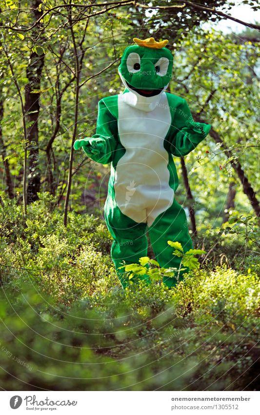 watt? Natur grün Freude Wald Kunst ästhetisch Karneval verstecken Kunstwerk Karnevalskostüm Waldboden Tarnung spaßig Naturschutzgebiet Naturphänomene Unsinn