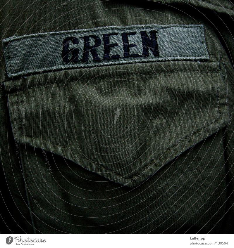 grünes hemd Hemd Tasche Armee Tarnung Oliven Bekleidung Soldat Krieg Gefecht army force name kennung T-Shirt brusttasche drill grundausbildung soldier war