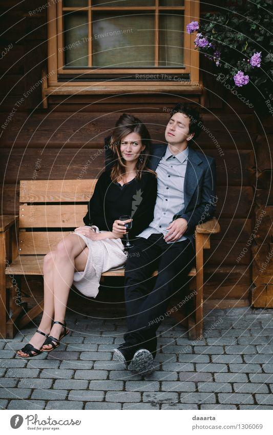 glücklich 2 Lifestyle elegant Stil Freude Leben harmonisch Sinnesorgane Erholung Freizeit & Hobby Spielen Abenteuer Freiheit Flirten Familie & Verwandtschaft
