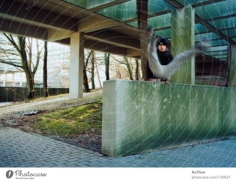 Style Vault springen Mauer Studium Barriere Ruhrgebiet Bildung Le Parkour Bochum Extremsport