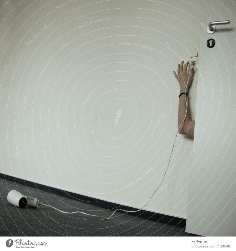 stirb langsam trocknen Wäschetrockner Kanonen Faser Teppich Türspalt geheimnisvoll Zweck Stromverbrauch Elektrizität Schalter Griff Wand Aktion Hollywood