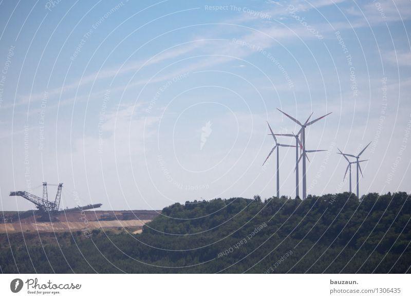 ||| ||. Ausflug Wirtschaft Industrie Energiewirtschaft Maschine Technik & Technologie Fortschritt Zukunft Erneuerbare Energie Windkraftanlage Kohlekraftwerk