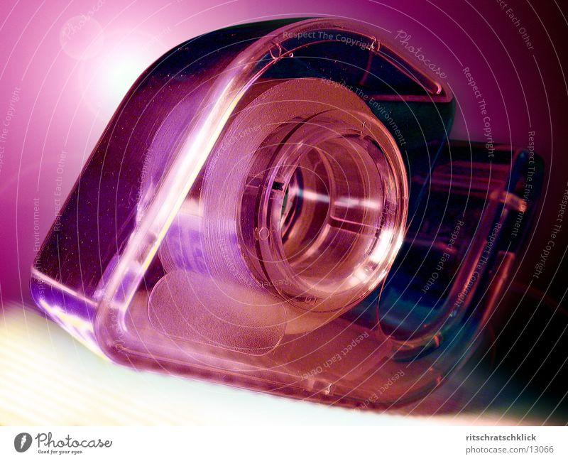 tesaroller Perspektive Dinge durchsichtig Klebeband Klebstoff