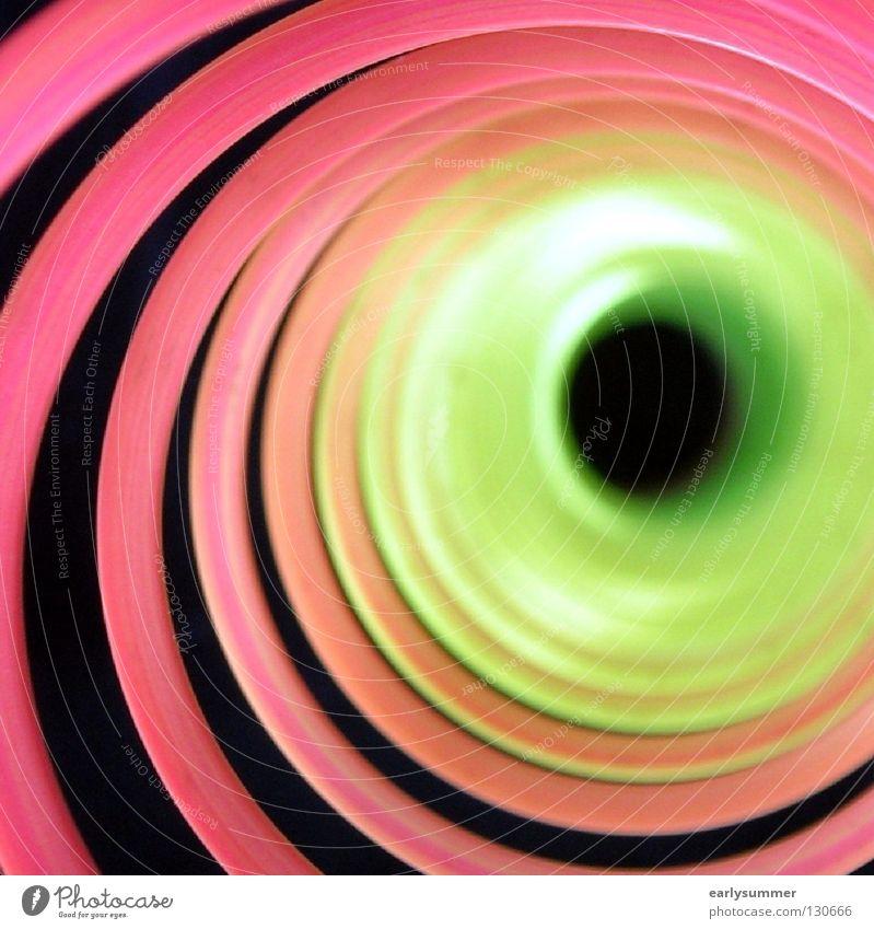 timetunnel blau grün Farbe Sonne rot Freude dunkel gelb Bewegung lustig Spielen Lampe gehen hell rosa orange