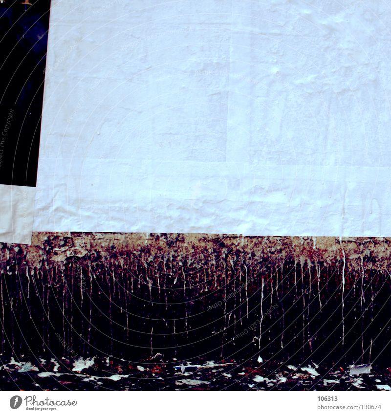 NICHTS FUER DESIGNER weiß schön Einsamkeit Farbe Leben Wand Umwelt Freiheit Mauer braun Arbeit & Erwerbstätigkeit Beleuchtung Raum Hintergrundbild dreckig Platz