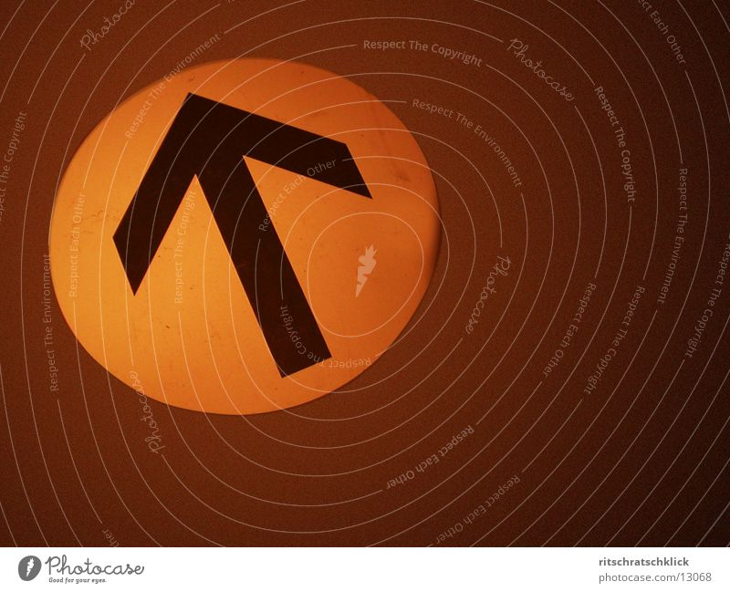richtungsweisend Richtung Bodenbelag Dinge ikea Pfeil Kreis