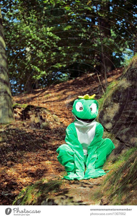 quack? grün Freude Kunst ästhetisch Karneval Frosch Kunstwerk Karnevalskostüm spaßig Spaßvogel Laubfrosch Froschkönig Froschauge Spaßgesellschaft