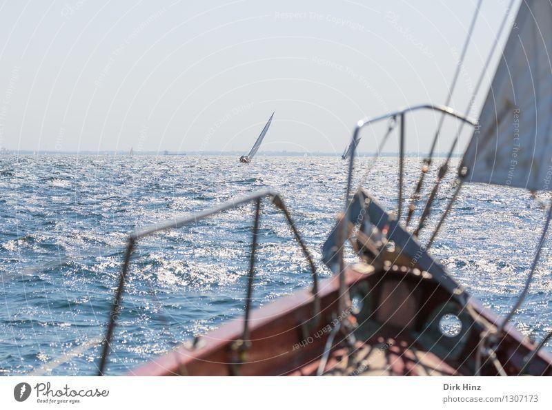 Ausschau halten Ferien & Urlaub & Reisen blau Erholung Meer ruhig Freude Reisefotografie Bewegung Freiheit Stimmung Horizont Freizeit & Hobby Tourismus frei Perspektive Aussicht