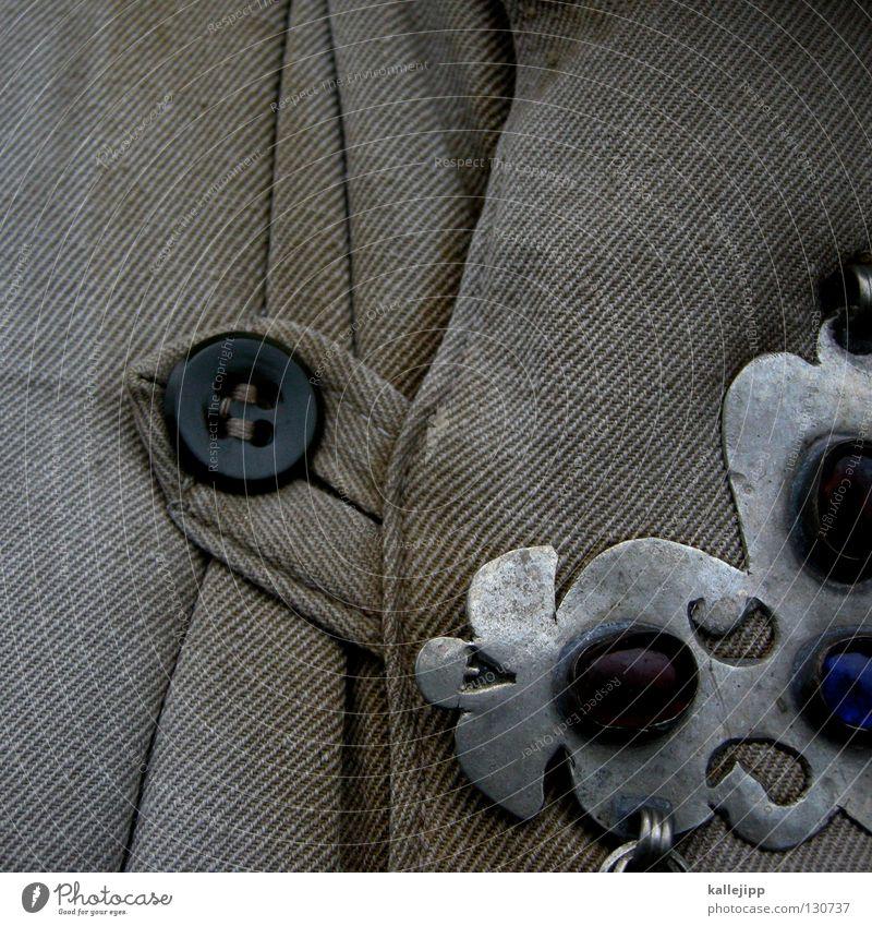 brustpanzer Stein Mode gold glänzend Stern (Symbol) Macht Stoff Symbole & Metaphern Zeichen Falte Jacke Schmuck Reichtum silber Stolz Knöpfe