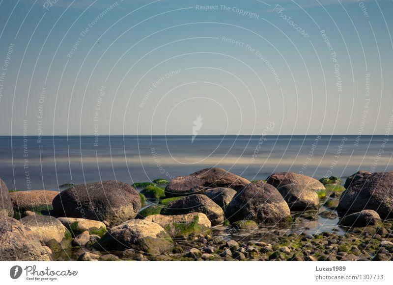 Steinchen Ferien & Urlaub & Reisen Tourismus Ausflug Abenteuer Ferne Freiheit Sommer Sommerurlaub Sonne Strand Meer Insel Wellen Umwelt Natur Landschaft Luft